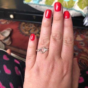Tiffany heart ring